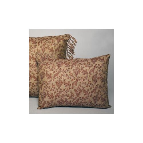 Vine Floral Wool Decorative Boudoir Pillow