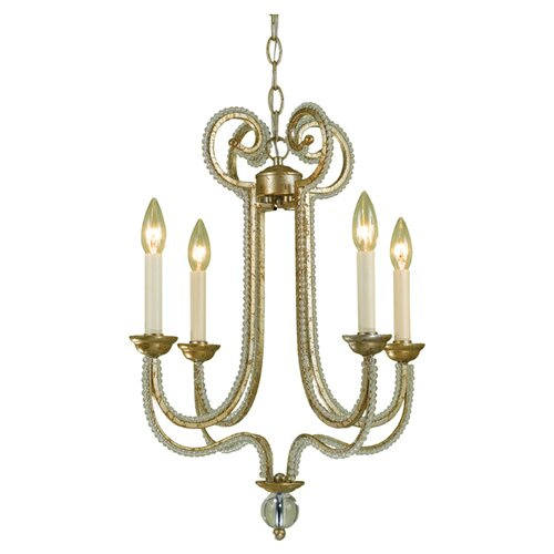 AF Lighting Camerson 4 Light Mini Chandelier