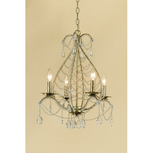 AF Lighting Belinda 4 Light Mini Chandelier