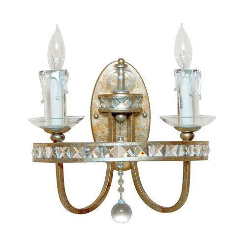 AF Lighting Aristocrat 2 Light Wall Sconce
