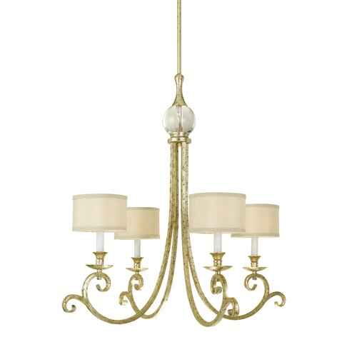 AF Lighting Lucy 4 Light Chandelier