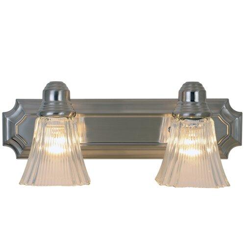 AF Lighting Decorative 2 Light Bath Vanity Light