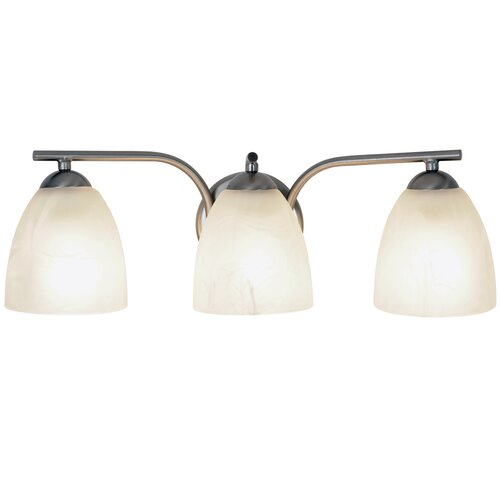 AF Lighting Incandescent 3 Light Bath Vanity Light