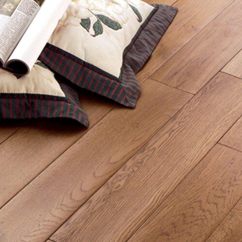 "US Floors Carriage House 5"" Solid Oak Flooring in Caramel"