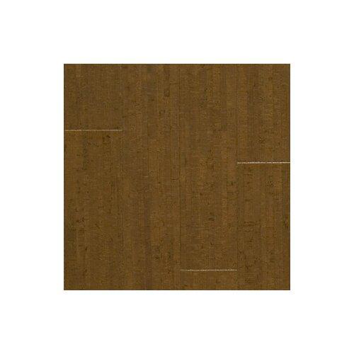 "US Floors Almada Marcas 4-1/8"" Engineered Locking Cork Flooring in Café"