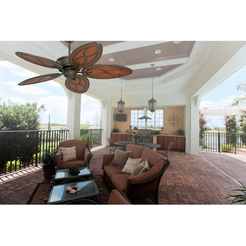 tommy bahama fans 52 quot copa breeze 5 blade outdoor ceiling