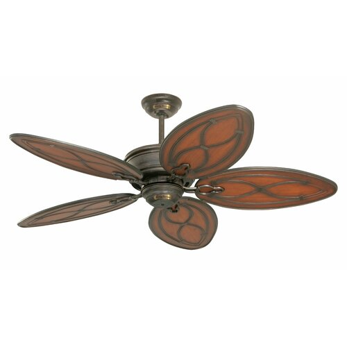"Tommy Bahama Fans 52"" Copa Breeze 5 Blade Outdoor Ceiling Fan"