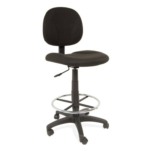 Height Adjustable Drafting Chair with Casters