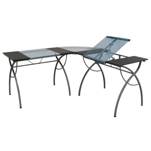 Studio Designs Catalina Computer Desk with Split Top