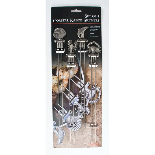 Double Prong Coastal Skewer (Set of 4)