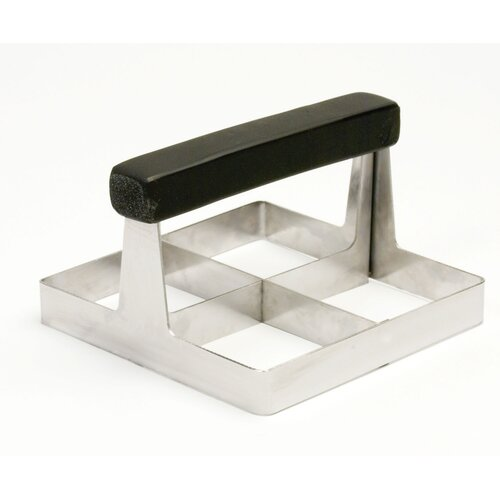 Charcoal Companion Steven Raichlen Stainless Slider Press
