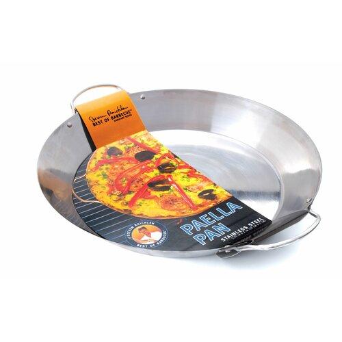 Charcoal Companion Steven Raichlen Stainless Paella Pan