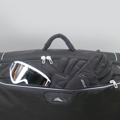 High Sierra Ski & Snowboard Wheeled Double Decker Combo Bag - 185cm