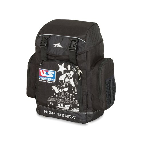 Official U.S Snowboard Team Backpack in Black
