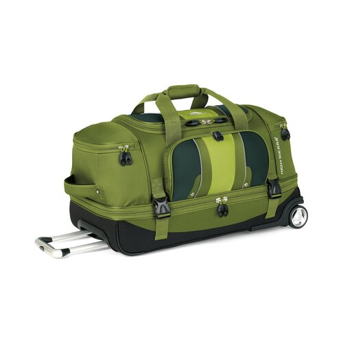 "High Sierra Evolution 28"" Drop Bottom 2 Wheeled Travel Duffel"