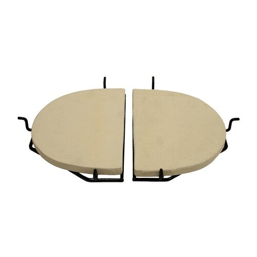 Primo Grills Ceramic Heat Reflector Plate for Oval Junior Grill