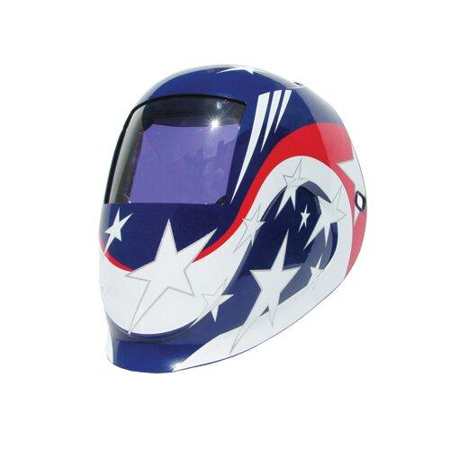 Python Welding Helmet With Varaible Shade 9 - 13 Auto-Darkening Lens With 12.6 sq. in. ...