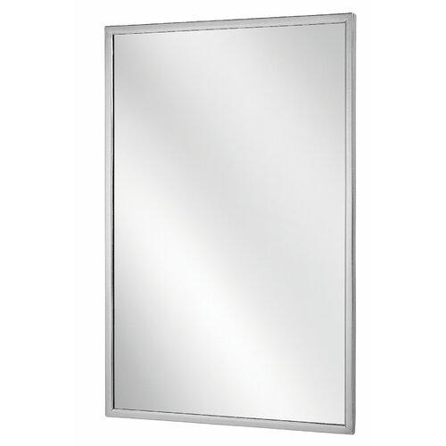 Bradley Corporation Angle Frame Wall Mirror Reviews