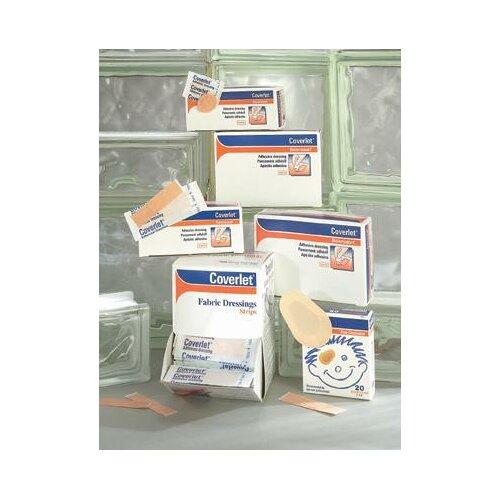 "BSN-JOBST X 3"" Coverlet® Fabric Adhesive Bandage Strips (100 Per Box)"