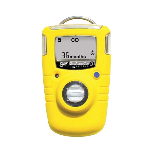 BW Technoligies Extreme 3 Year Portable Gas Monitor For Hydrogen Sulfide