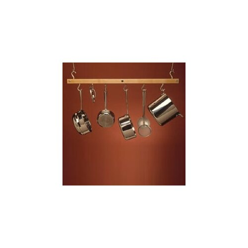 J.K. Adams Bar Hanging Pot Rack & Reviews | Wayfair
