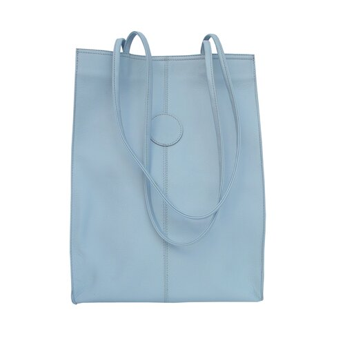 Piel Leather Fashion Avenue Large Market Shopping Tote