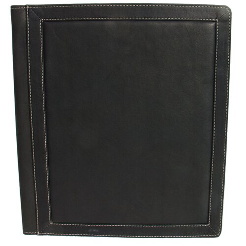 Piel Leather Leather Photo Album with 3-Ring Binder