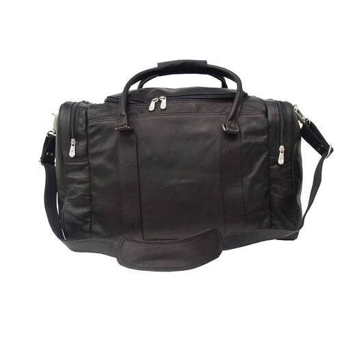 "Piel Leather 20"" Leather Classic Carry-On Duffel"