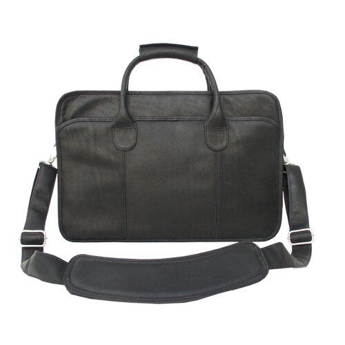 Piel Leather Simple Portfolio Briefcase