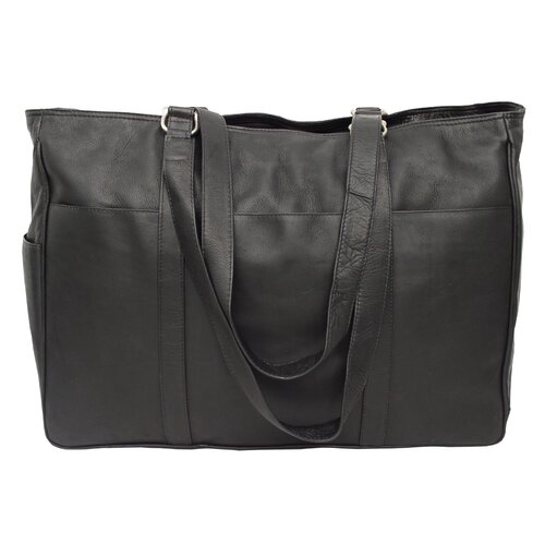 Piel Leather Fashion Aventue Large Shopping Tote