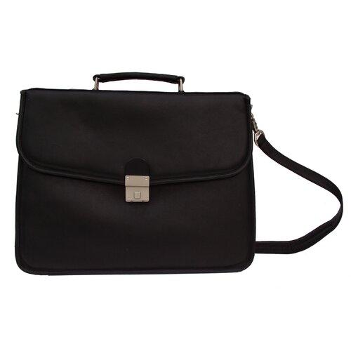 Piel Leather Entrepeneur Portfolio Briefcase