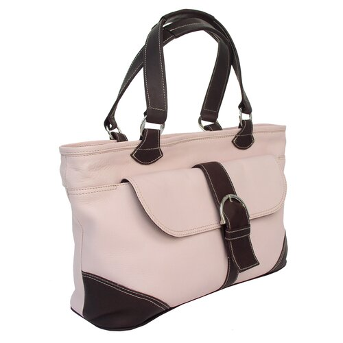 Pastel Leather Tote