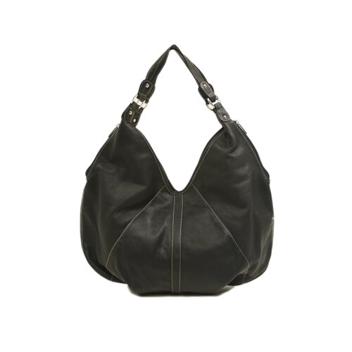 Piel Leather Ladies Large Hobo Bag