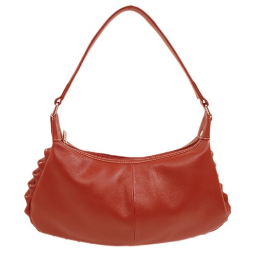 Piel Leather Ladies Studded Hobo Bag