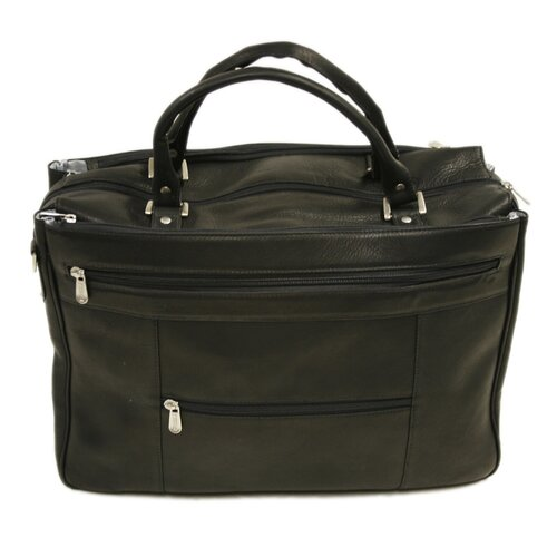 Large Laptop Briefcase / Carry-On Leather Laptop Briefcase