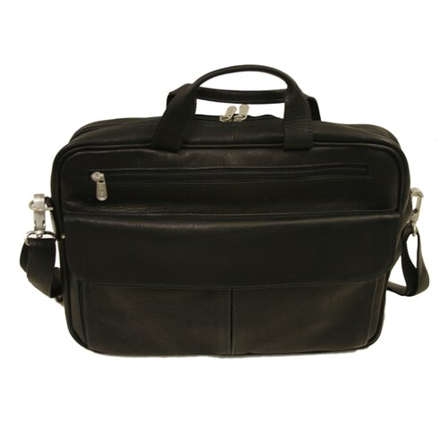 Slim Checkpoint Portfolio Leather Laptop Briefcase