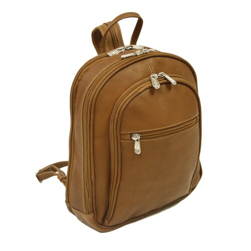Entrepreneur Small Multi-Compartment Backpack in Saddle