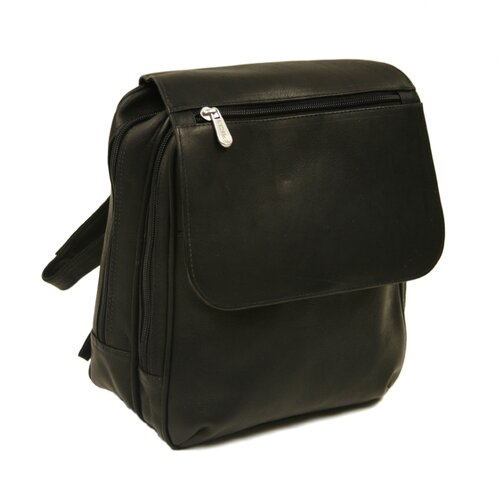 Piel Leather Entrepreneur Flap-Over Mini Backpack