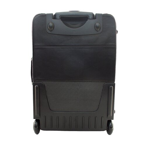 """Piel Leather 22"""" Wheeled Carry On"""