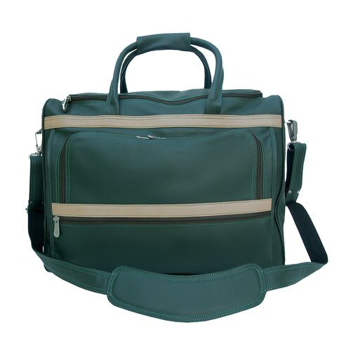 """Piel Leather Traveler 17"""" Leather Carry-On Duffel"""
