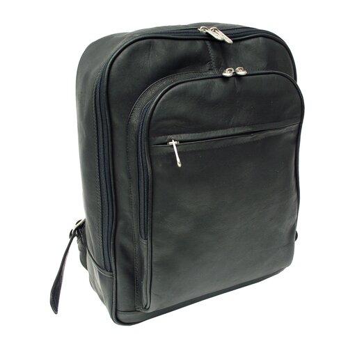 Piel Leather Entrepeneur Front-Pocket Computer Backpack