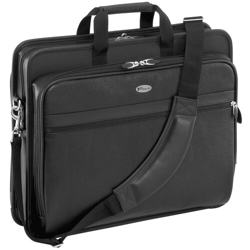 Targus® Deluxe Leather Laptop Briefcase