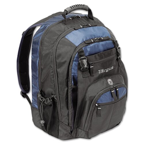 "Targus® 17"" Laptop Backpack, File Compartment, Audio Player Sleeve"