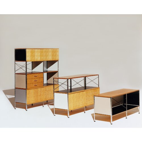 """Herman Miller ® Eames 47"""" 2-Door Storage Unit"""