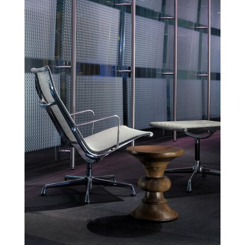 Herman Miller ® Eames Aluminum Group Chair and Ottoman