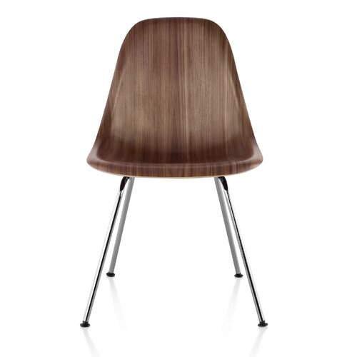 Herman Miller ® Eames Molded Wood Side Chair with 4-Leg Base
