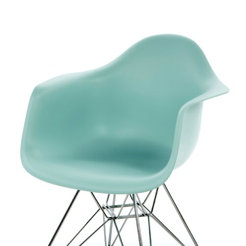 Herman Miller ® Eames DAR - Molded Plastic Arm Chair with Wire Base