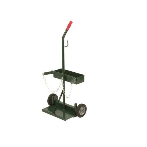 Radnor 106T-21 Cylinder Cart With Semi Pneumatic Wheels And Tool Box