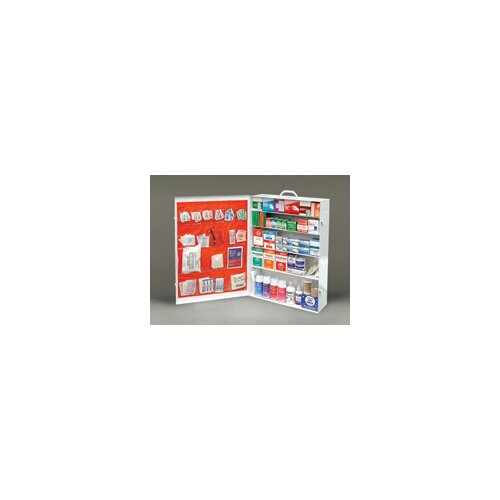 Radnor 100 Person Durable Metal Industrial First Aid Cabinet