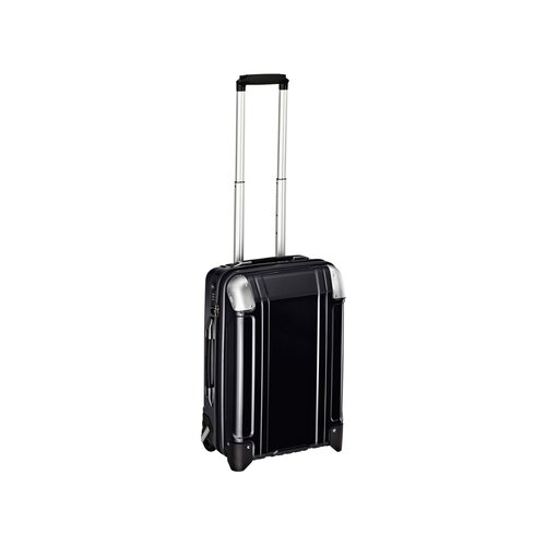 Geo Polycarbonate Carry On 2 Wheel Travel Case